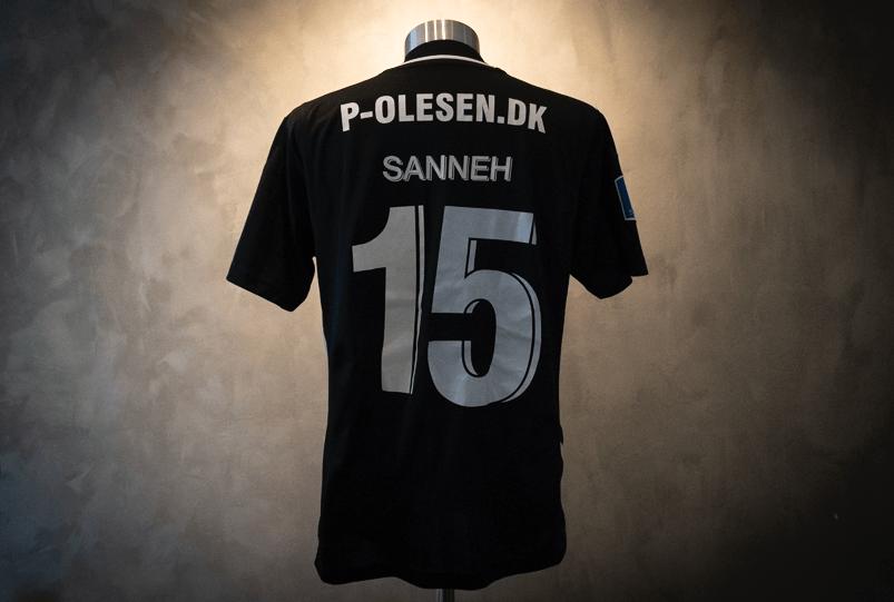 Bubacarr Sanneh  Matchworn AC Horsens-trøje
