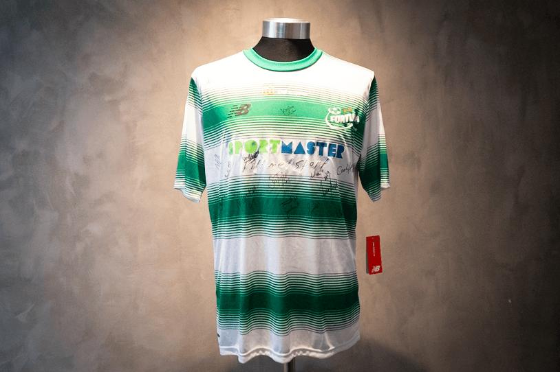 Fortuna Hjørring  Signeret trøje af hele holdet