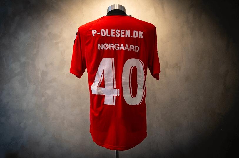 Frederik Nørgaard  Signeret & Matchworn AC Horsens-trøje