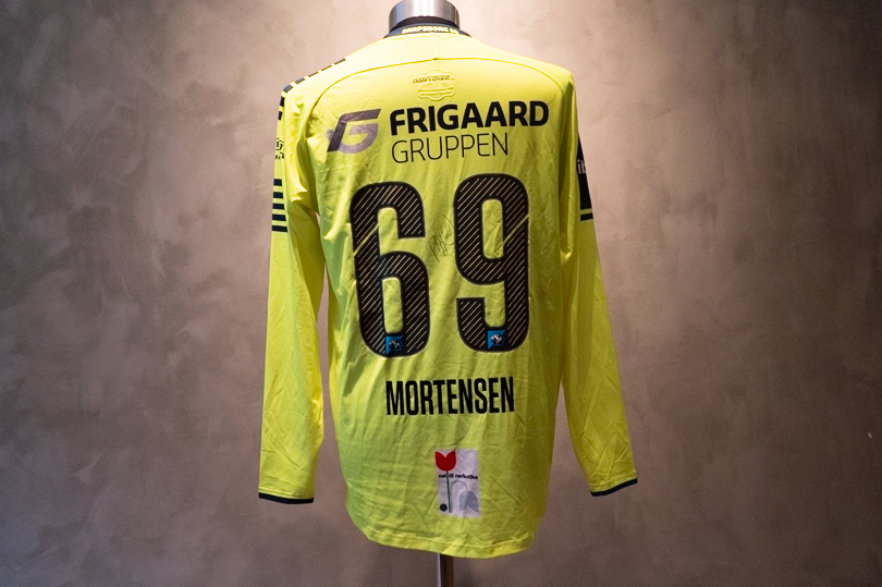 Patrick Mortensen  Matchworn og signeret Sarpsborg-trøje