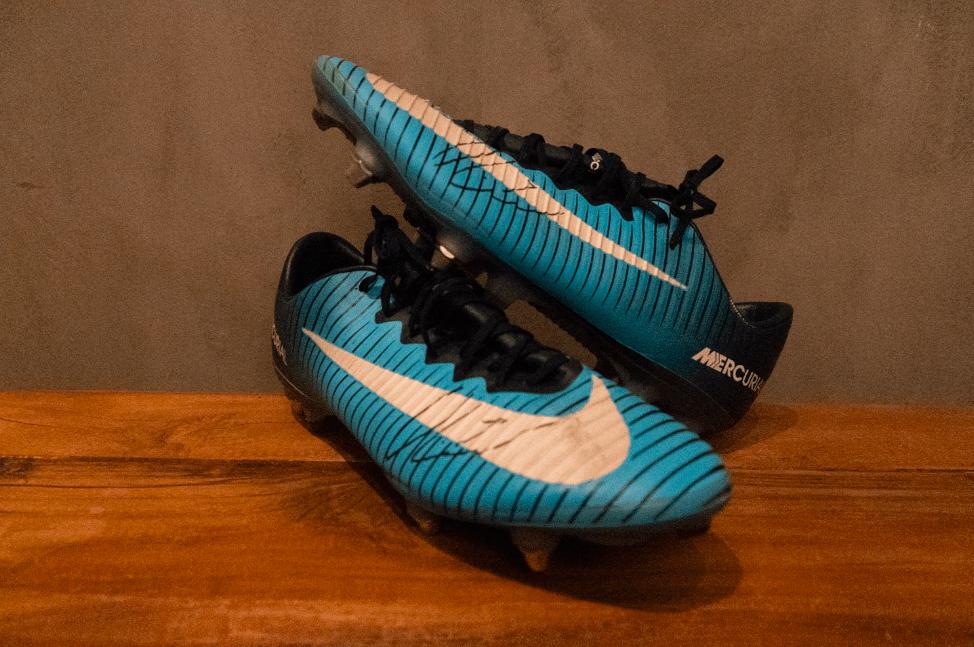 Oliver Abildgaard  Matchworn & Signeret Nike Mercurial Vapor