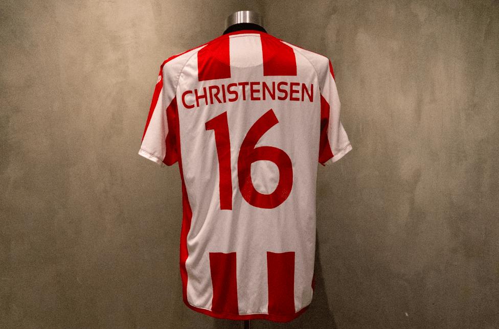 Magnus Christensen  Matchworn & Signeret AaB-trøje