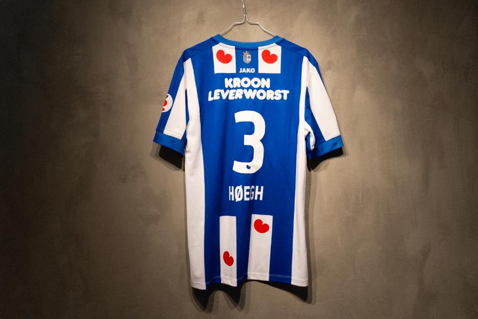 Daniel Høegh  Signeret Officiel Heerenveen-Kamptrøje